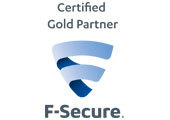 F-Secure Certified Gold Partner | G30